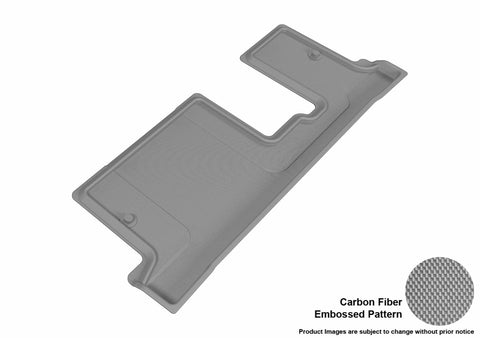 3D MAXpider L1BC02231501 BUICK ENCLAVE 2008-2017/ CHEVROLET TRAVERSE 2009-2017/ GMC ACADIA 2007-2016/ GMC ACADIA LIMITED 2017 KAGU GRAY R3 BENCH SEAT