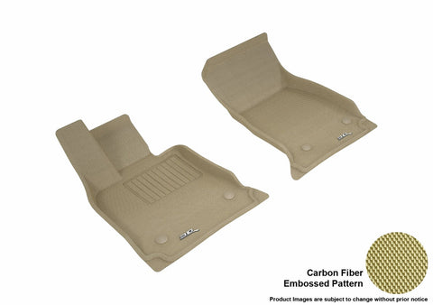 3D MAXpider L1CD01711502 CADILLAC CT6 2016-2018 KAGU TAN R1