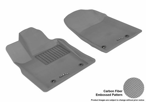 3D MAXpider L1DG01311501 DODGE DURANGO 2012-2019/ JEEP GRAND CHEROKEE 2013-2019 KAGU GRAY R1 (2 POSTS ON PASSENGER'S SIDE)