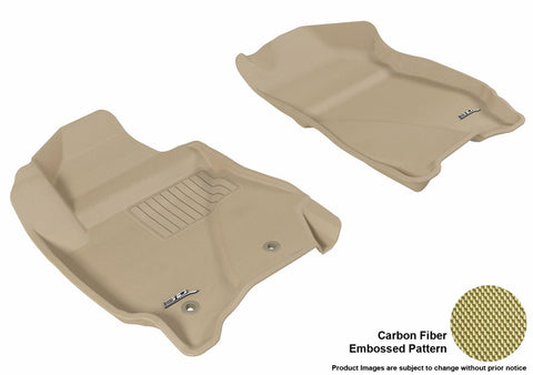 3D MAXpider L1FR03711502 FORD ESCAPE 2011-2012/ MAZDA TRIBUTE 2010-2011 KAGU TAN R1 (2 EYELETS)