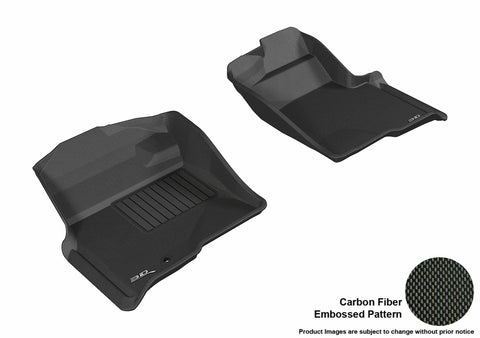 3D MAXpider L1FR06711509 FORD F-150 2009-2010 REGULAR/ SUPERCAB/ SUPERCREW KAGU BLACK R1 (1 EYELET, NOT FIT 4X4 M/T FLOOR SHIFTER)