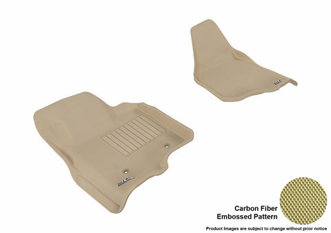 3D MAXpider L1FR07011502 FORD F-250/ 350/ 450 2011-2012 SUPERCAB/ SUPERCREW KAGU TAN R1 (NOT FIT 4X4 M/T FLOOR SHIFTER)