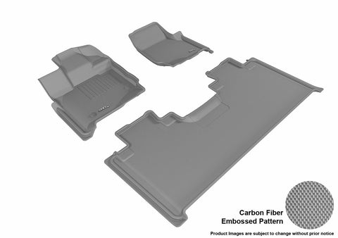 3D MAXpider L1FR10101501 FORD F-150 2015-2018 SUPERCAB KAGU GRAY R1 R2 (2 EYELETS, NOT FIT 4X4 M/T FLOOR SHIFTER)