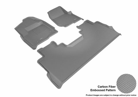 3D MAXpider L1FR10701501 FORD F-250/350/450 2017-2019 SUPERCREW KAGU GRAY R1 R2 (BENCH R1)