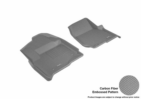 3D MAXpider L1FR10711501 FORD F-250/ 350/ 450 2017-2019 SUPERCREW KAGU GRAY R1