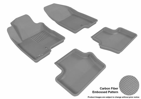 3D MAXpider L1JP00901501 JEEP COMPASS 2014-2017 KAGU GRAY R1 R2 (1 POST ON PASSENGER SIDE)