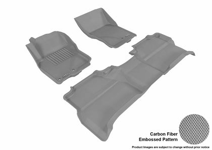 3D MAXpider L1NS06101501 NISSAN FRONTIER CREW CAB 2005-2018 KAGU GRAY R1 R2 (2 EYELETS)