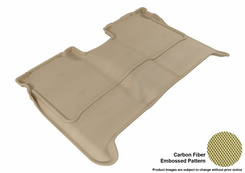 3D MAXpider L1NS06321502 NISSAN TITAN 2004-2015 CREW CAB KAGU TAN R2 (WITHOUT STORAGE BOX)
