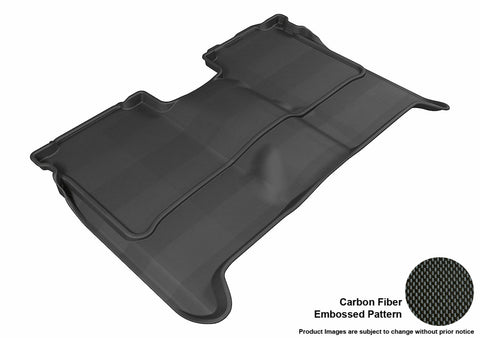3D MAXpider L1NS06321509 NISSAN TITAN 2004-2015 CREW CAB KAGU BLACK R2 (WITHOUT STORAGE BOX)