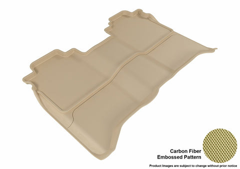 3D MAXpider L1NS08421502 NISSAN TITAN 2016-2018 CREW CAB KAGU TAN R2 (WITHOUT STORAGE BOX)