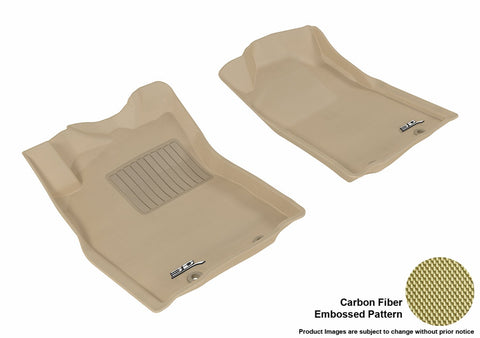 3D MAXpider L1TY09111502 TOYOTA TACOMA REGULAR CAB/ ACCESS CAB 2012-2015 KAGU TAN R1 (POST, A/T ONLY)