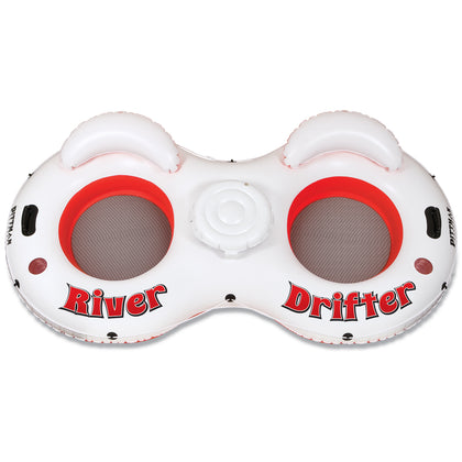 Pittman Outdoors Two People River Drifter Red/White