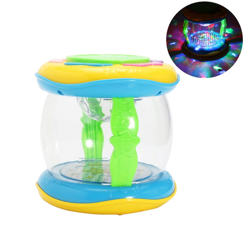 Kids Plastic Musical Instrument Drum Toy for Educational Development