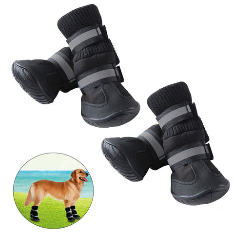 Anti Slip Pet Protective Snow/Rain Boots S/M/L/XL
