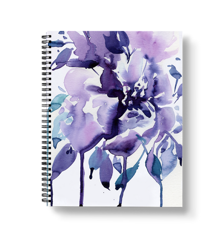 Dripping Roses Notebook