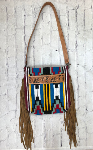 Aztec Saddle Bag Purse