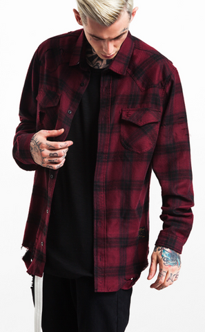 Ripped Flannel