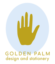 Golden Palm Design logo