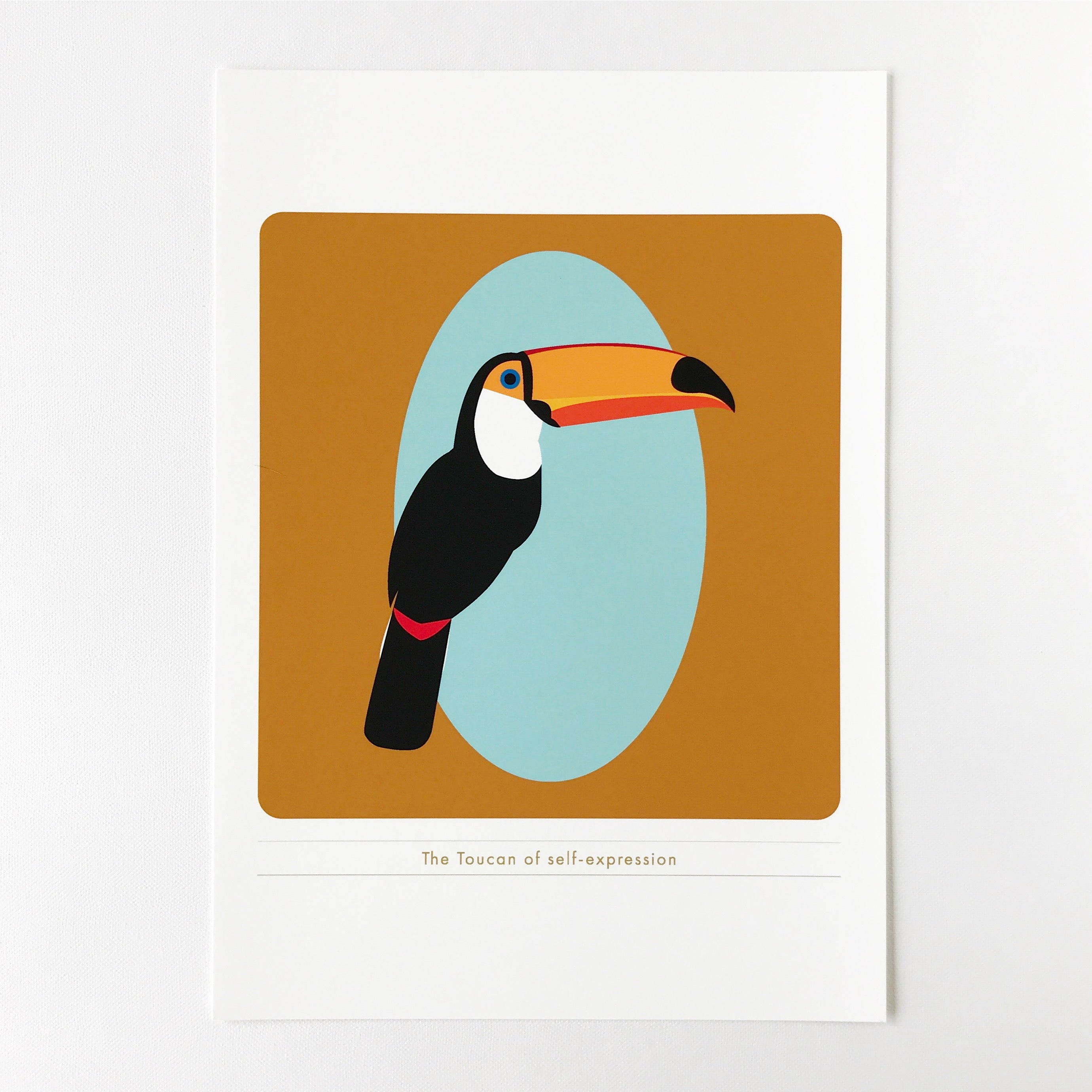 Custom art print • TOUCAN OF SELF-EXPRESSION