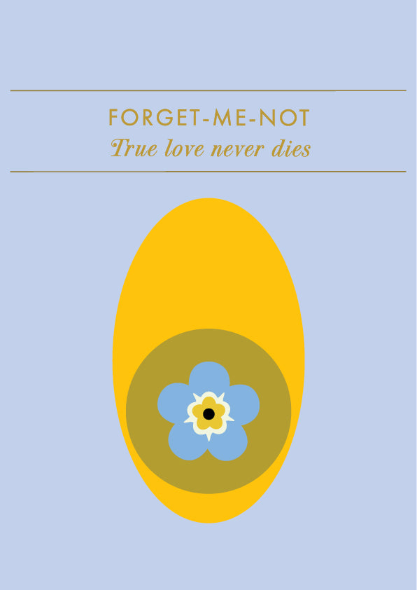 Postcard • FORGET-ME-NOT