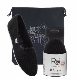 Washable & foldable sneaker by Rollasole
