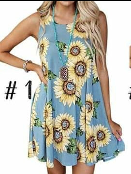 Sunflower sundress