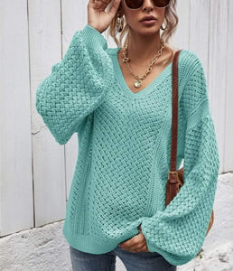 Oversized spring sweater