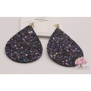 ,sassy-chic-clothing-boutique,Black sparkly earrings,Willowing Rose Boutique! Formerly Sassy Chic Clothing Boutique