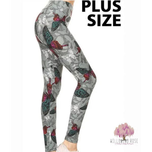 ,sassy-chic-clothing-boutique,Butterfly leggings (full length),Willowing Rose Boutique! Formerly Sassy Chic Clothing Boutique