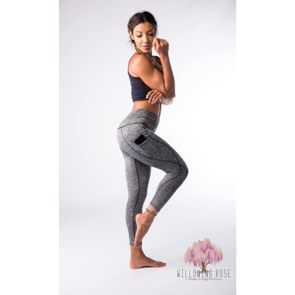 ,sassy-chic-clothing-boutique,Dark gray leggings,Willowing Rose Boutique! Formerly Sassy Chic Clothing Boutique