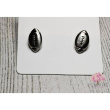 earrings,sassy-chic-clothing-boutique,Football earrings (gold & silver),Willowing Rose Boutique! Formerly Sassy Chic Clothing Boutique