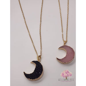 ,sassy-chic-clothing-boutique,Moon Necklace,Sassy Chic Clothing Boutique