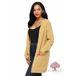 ,sassy-chic-clothing-boutique,Open front cardigan (2 colors),Willowing Rose Boutique! Formerly Sassy Chic Clothing Boutique
