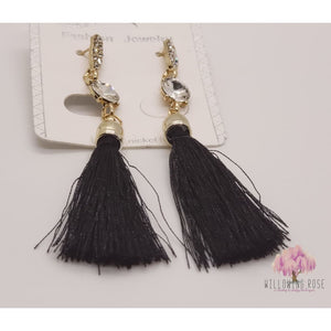,sassy-chic-clothing-boutique,Tassel earrings (various colors),Willowing Rose Boutique! Formerly Sassy Chic Clothing Boutique