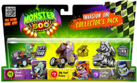 Monster 500 - Vehículos Pack De 3