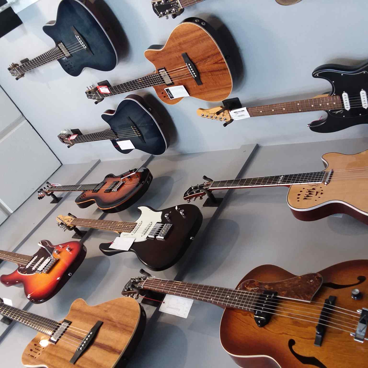 Godin Guitars at Guitars On Main