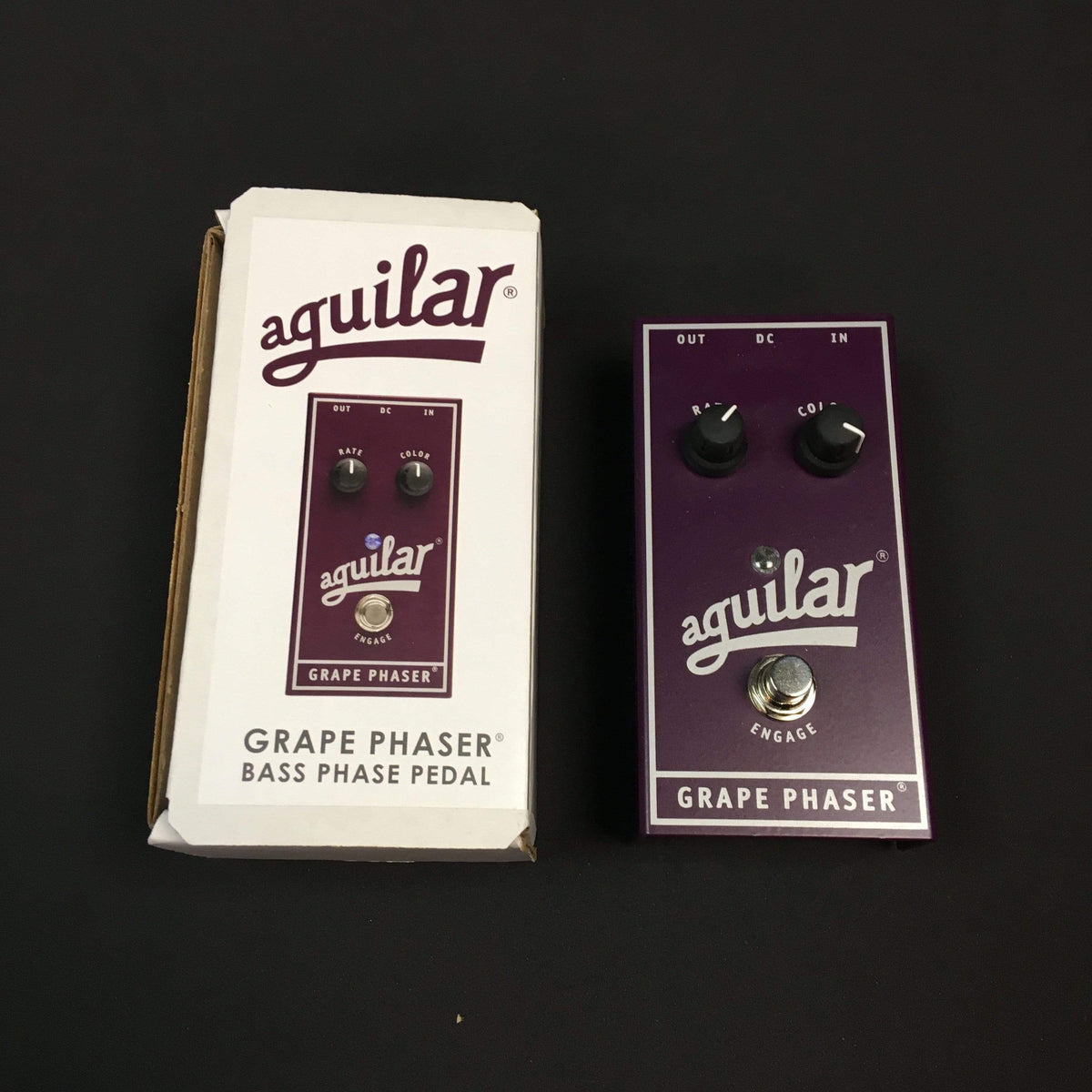 Aguilar Grape Phaser Bass Pedal