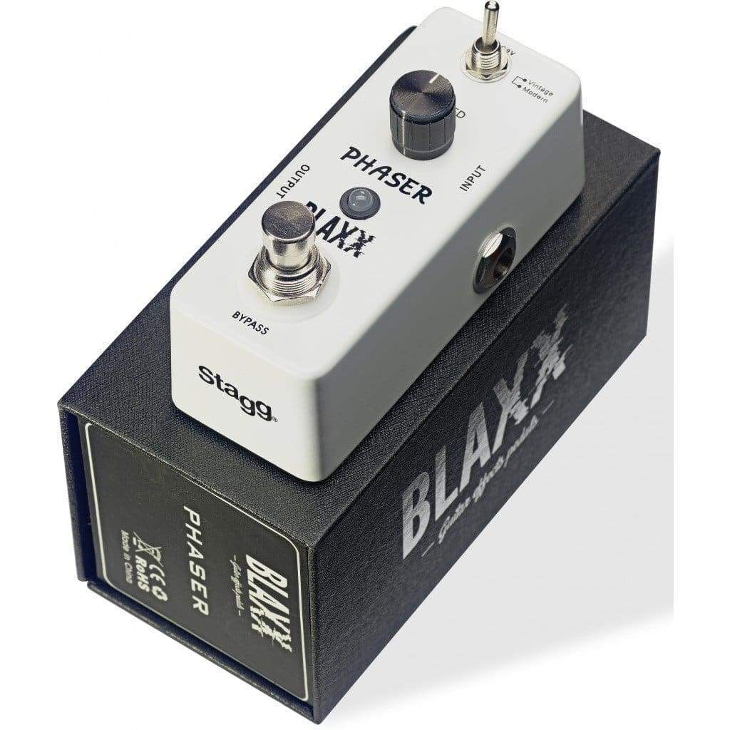 Blaxx EFFECTS PEDALS BLAXX 2-mode Phaser pedal