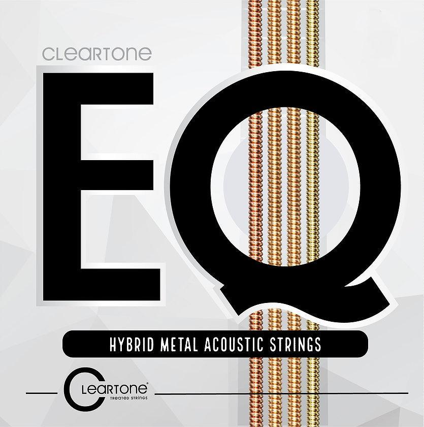 Cleartone STRINGS - ACOUSTIC GUITAR STRINGS Cleartone EQ Light Hybrid Metal Acoustic 12-53 Strings
