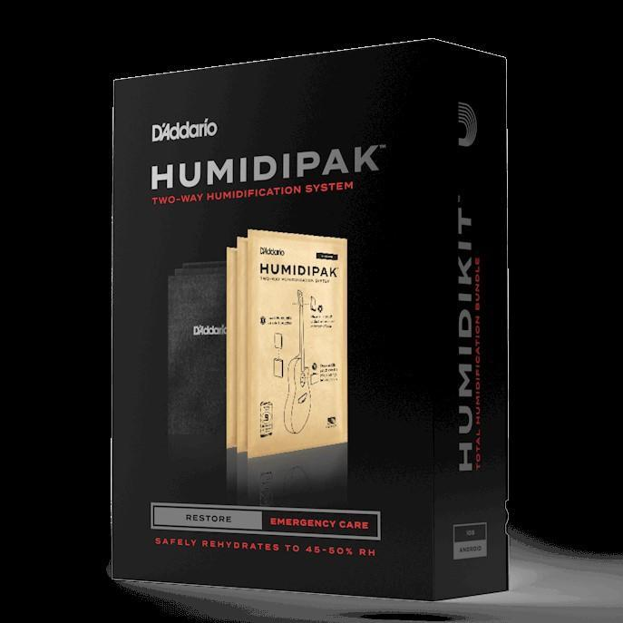 D'Addario ACCESSORIES - HUMIDIFIER D'Addario Humidipak Restore Kit Automatic Guitar  Humidity conditioning System