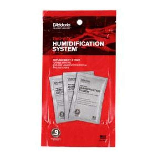 D'ADDARIO ACCESSORIES - HUMIDIFIER Default Two-Way Humidification System Replacement Packets