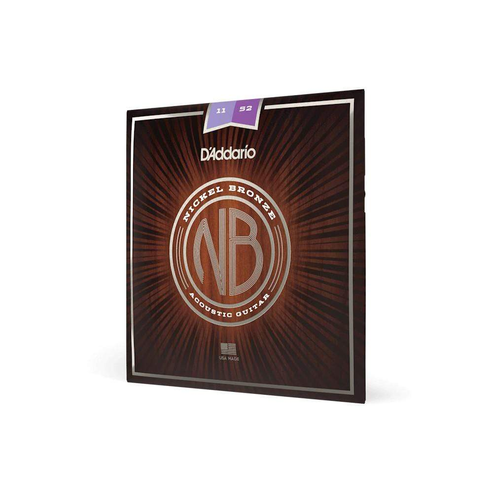 D'Addario STRINGS D'Addario Nickel Bronze 11-52