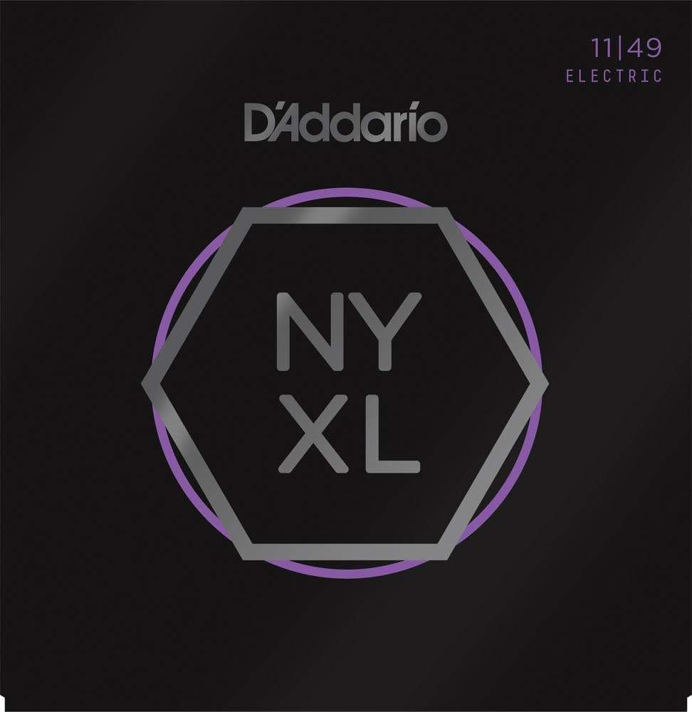 D'ADDARIO STRINGS - ELECTRIC GUITAR STRINGS Default D'Addario NYXL 11 - 49 Medium