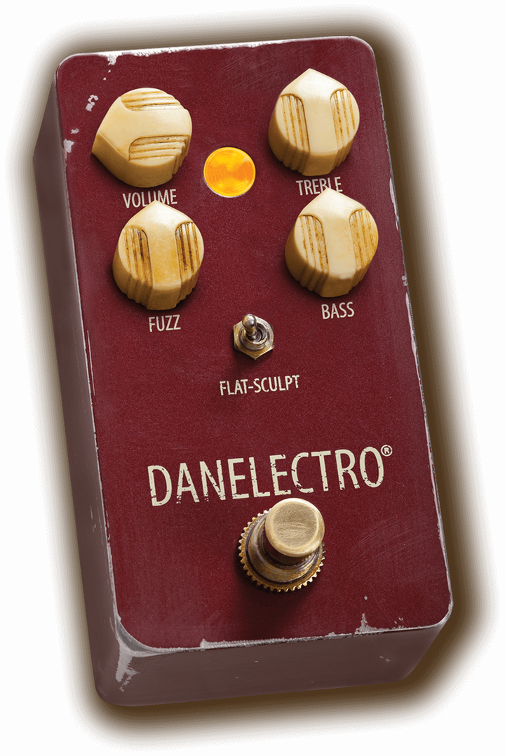Danelectro EFFECTS PEDALS Default Danelectro The Eisenhower Fuzz Pedal