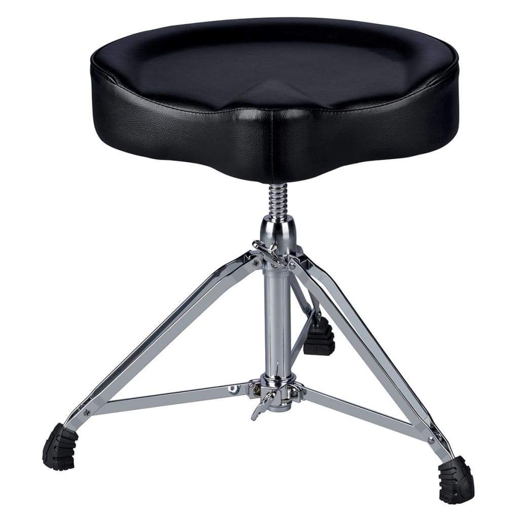 DDRUM Acoustic Drums Default ddrum Mercury Saddle Throne Black