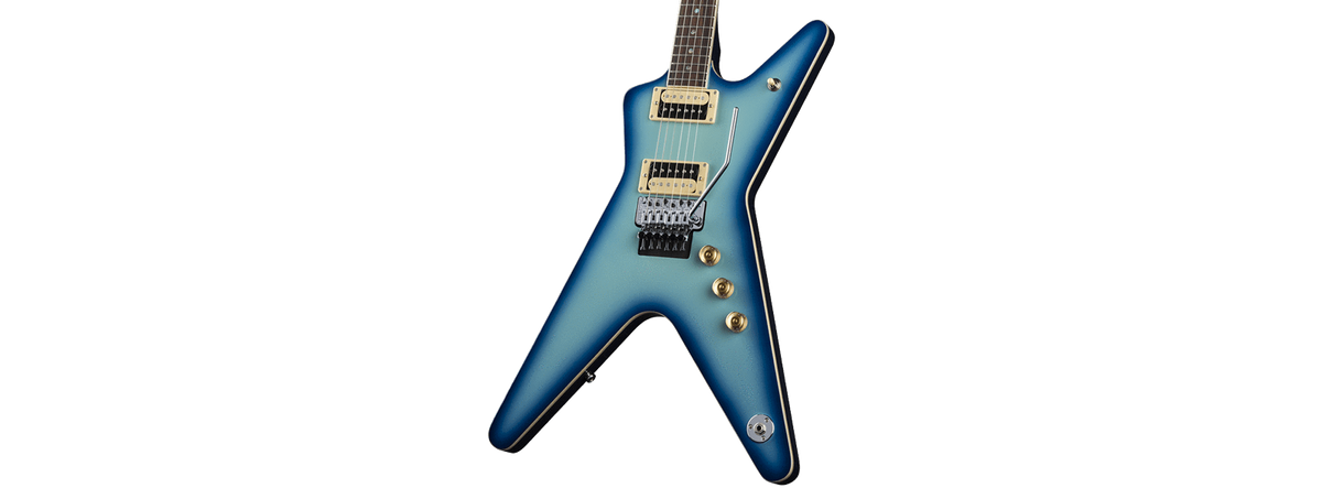 Dean Guitars GUITARS - ELECTRIC GUITARS DEAN ML 79 BLUE BURST
