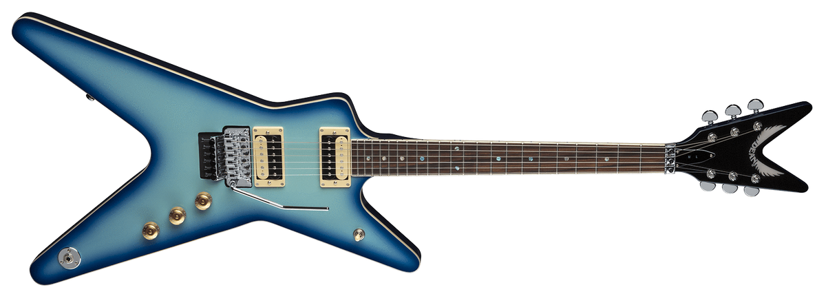 Dean Guitars GUITARS - ELECTRIC GUITARS Floyd Rose Special DEAN ML 79 BLUE BURST