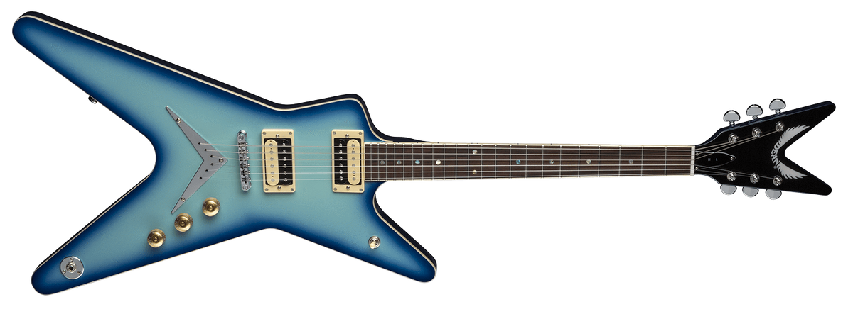 Dean Guitars GUITARS - ELECTRIC GUITARS Tune-O-Matic (With V Plate) DEAN ML 79 BLUE BURST