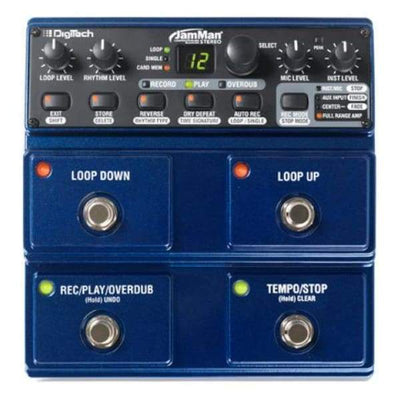 DIGITECH EFFECTS PEDALS Default DIGITECH JAMMAN STEREO LOOPER