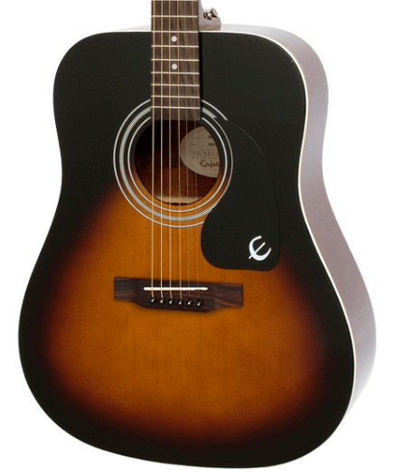 Epiphone GUITARS - ACOUSTIC GUITARS Epiphone DR-100 Acoustic Guitar Vintage Sunburst